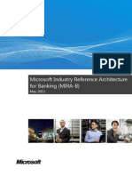 Microsoft Industry Reference Architecture for Banking - May 2012