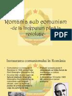 Romania Sub Comunism