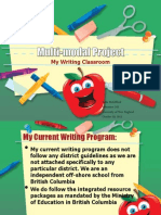 multi-modal writing