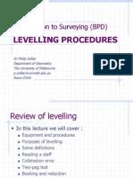 Levelling Procedures