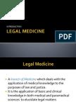 01Legal Medicine Introduction