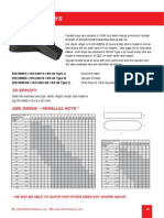 Page 32 Parallel Keys
