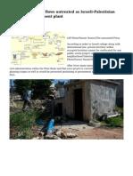 West Bank sewage flows untreated as Israeli-Palestinian politics stall treatment plant