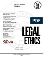 2013 UP Legal and Judicial Ethics