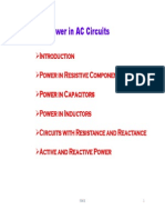 L3. Power in AC Circuits
