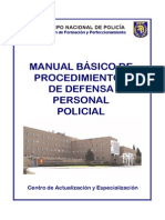 Manual Basico de Defensa Personal Policial