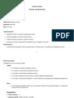 Proiect de Lecţie Antreprenoriala, 18 Martie 2014