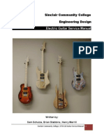 Electric Guitar Service Manual