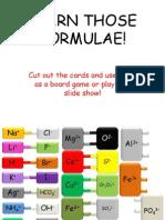 Learn Those Formulae