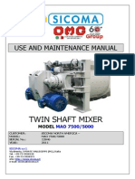 double paddle mixer