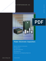 ESTA Power Electronic Capacitors DB