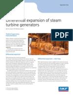 Differential Expansion of Steam Turbine Generators