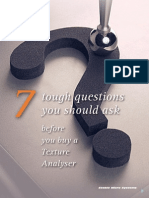 7 Tough Questions You Should Ask Before Buying a Texture Analyser - 2013