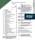 Instrucciones Instalacion y Funcionamiento -- Bomba Grundfos
