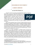 Le christianisme est ne en Orient.pdf