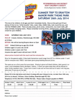 PDDCS Drayton Manor Flyer 2014