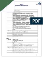 API - Examination Preparation Course Details