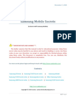 Samsung. Mobile .Secrets
