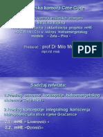 Presentacija MHE Ozrinici