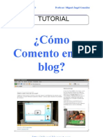 ¿Cómo Comento en un blog?