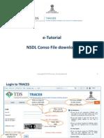 E-Tutorial - Download NSDL Conso File