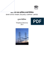 Bihar State Power (Holding) Company Limited Directory-2013-1