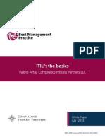 ITIL the Basics