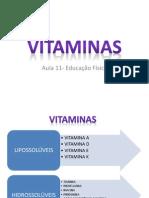 Aula 11- Vitaminas
