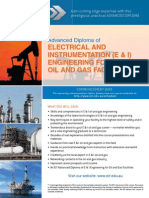 Electrical and Instrument for Oil Facilities