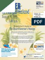 Margaritaland Flyer