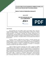 Plano Territorial de Desenvolvimento Sustentavel Do Baixo Amazonas Para