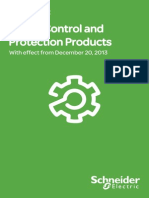 Schneider Power Control & Protection Products (Contactors) Pricelist 20.12.2013