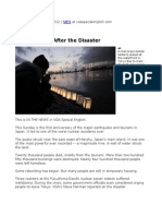 35. Japan, A Year After the Disaster