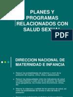 Planes y Programas Relacionados Con Salud Sexual (1)