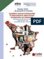 Il dossier 2014 della Caritas sulla Toscana
