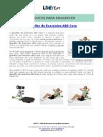 Aparelho de Exercícios ABS Core