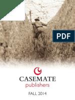 Casemate Fall 2014 Catalog