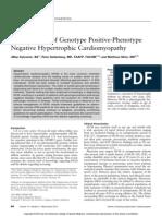 The Dilemma of Genotype Positive Phenotype