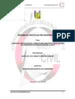 Informe Final de Prácticas