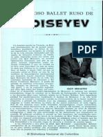 El Famoso Ballet Ruso de Moiseyev (Biblioteca Nal Colombia)
