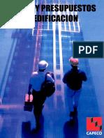 37866619 Costos y Presupuestos en Edificacion CAPECO (1)