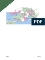 Map of Gujarat State