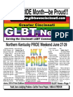 June -2014 GLBT Pride NKy Edition