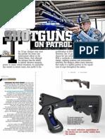 Shotguns on Patrol