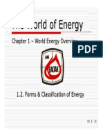 01B - Forms & Classification of Energy