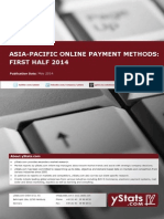 Asia-Pacific Online Payment Methods - First Half 2014