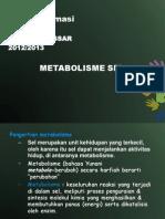 Botani Farmasi - Metabolisme Sel
