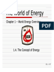 01D - The Concept of Energy
