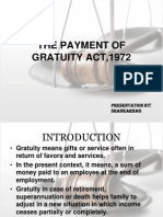 53651751 PPT Payment of Gratuity Act 1972 2