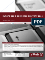 Europe B2C E-Commerce Delivery 2014